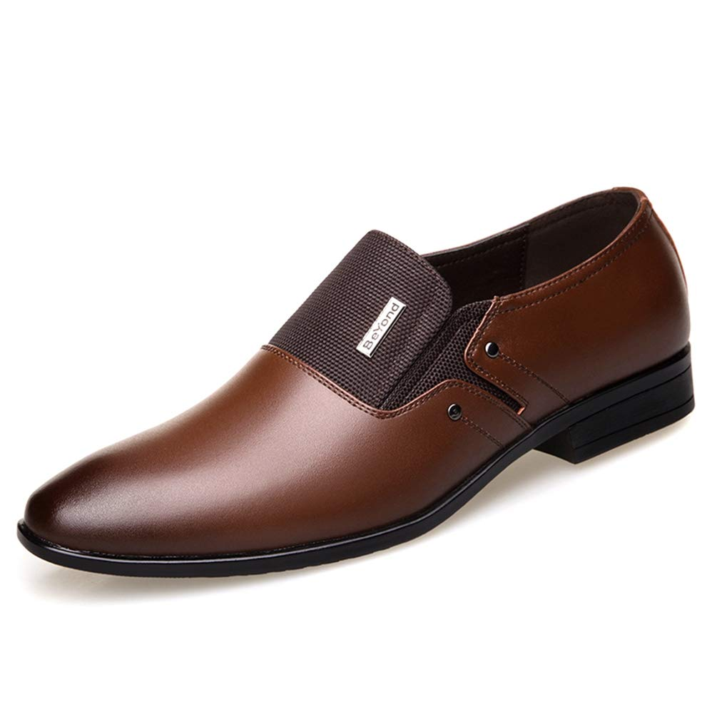 Los Hombres Negocio Zapatos Mocasines De Novia Formal De Hombres OtoñO Primavera 41 EU J2 Marrón