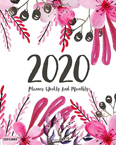 2020 Planner Daily Weekly Monthly Calendar Planner | 12 Months Jan - Dec 2020 For Academic Agenda Schedule Organizer Logbook and Journal Notebook ... Cover (Work Hard Dream Big) (Volume 18) [Leroy, Celeste T.] (Tapa Blanda)