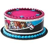 Deco Monster High Designer Prints Edible Cake Image