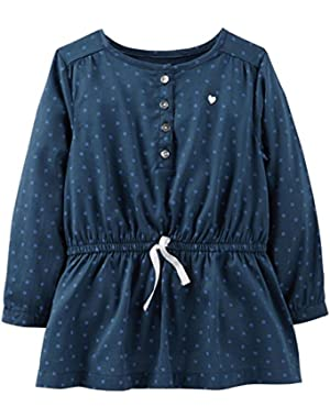 Sateen Tunic (Baby) - Print-6 Months