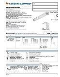 Lithonia Lighting C 240 120 MBE 2INKO 4-Foot 2-Lamp