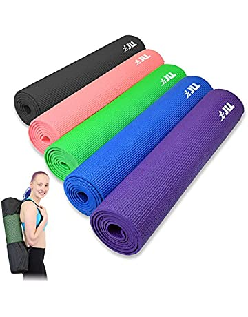 4a5b7b4cb11 JLL® Yoga Mat 6mm, Carry Case Included, Suitable as a Yoga, Pilates