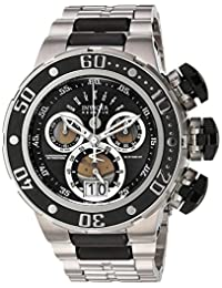 Invicta Men's 'Reserve' Swiss Quartz Stainless Steel Casual Watch, Color:Silver-Toned (Model: 21606)