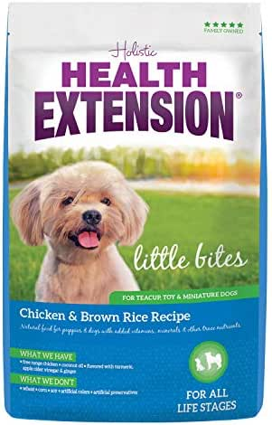 Health Extension Little Bites Chicken & Brown Rice Recipe, 10-Pound