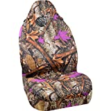 Bell Automotive 22-1-56725-9 Wild Wood Camo Purple Leaf Universal Bucket Seat Cover