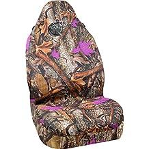 Bell Automotive 22-1-56725-9 Wild Wood Camo Purple Leaf Universal Bucket Seat Cover