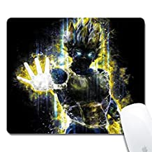 Gaming Office Mouse Pad--Glissando Customized Dragon Ball Z Art Cloth surface Natural rubber Gaming Office Mouse Pad--Rectangle Mouse Pad(10x8.3inchx1/8inch)