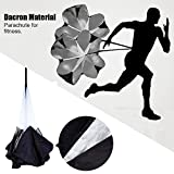 "Sysly 56 inch Speed Training Resistance Parachute Running Chute Power Large , Fit up to a 42"" waist"