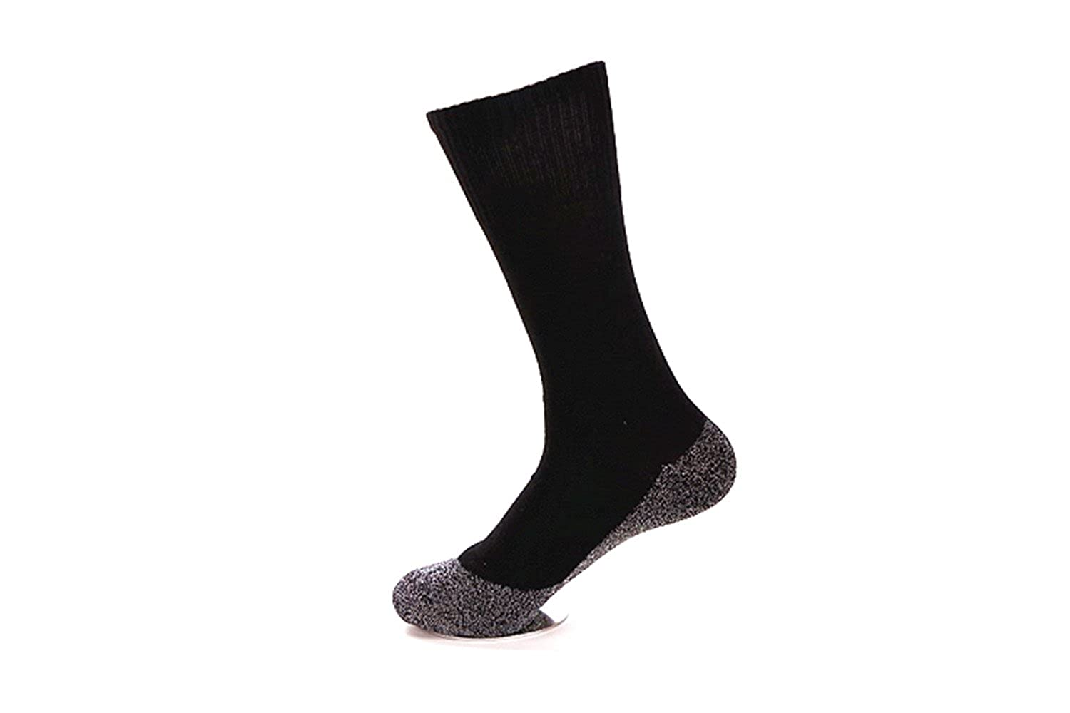 35 Degrees Ultimate Comfort Socks 3 Pairs in Black  Aluminized Fibers Supersoft Socks