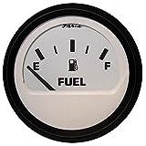 "Faria 12901 Euro Fuel Level Gauge - White 2"""
