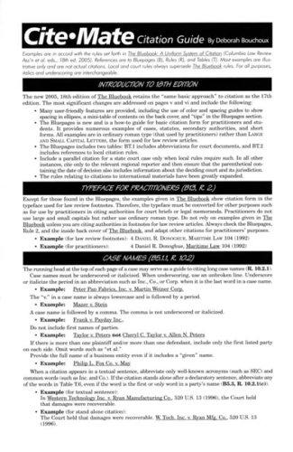 Download Cite Mate Citation Guide book pdf   audio id