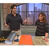 """Brushed Stainless Dishwasher Cover: As Seen On TV The Rachael Ray Show, Peel & Stick BRUSHED STAINLESS NICKEL Finish Cover 26"""" X 36"""" (cut to fit GE,Amana, SPT, Whirlpool, Frigidaire, Bosch and more)"""