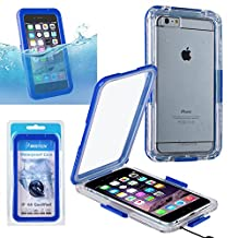 "iPhone 6 Plus / 6S Plus Waterproof Case, Insten Cellphone Dry Bag Full-body Rugged Snap in Shockproof Dirtproof Snowproof Waterproof case For Apple iPhone 6 Plus / 6S Plus (5.5""), Blue"