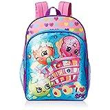 Backpack - Shopkins - Blue/Pink in Basket Hearts New 416590
