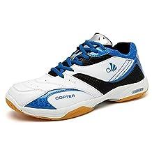 Men's Sneakers Indoor Cross Trainer Shoes Good For( Tennis/Badminton/Racquetball)