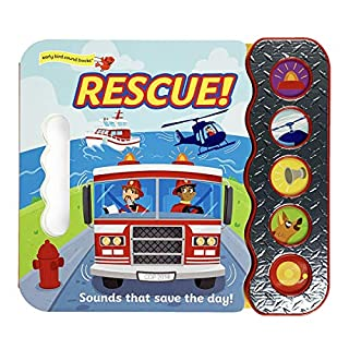 Rescue! Sounds that Save the Day (Early Bird Sound Books 5 Button)
