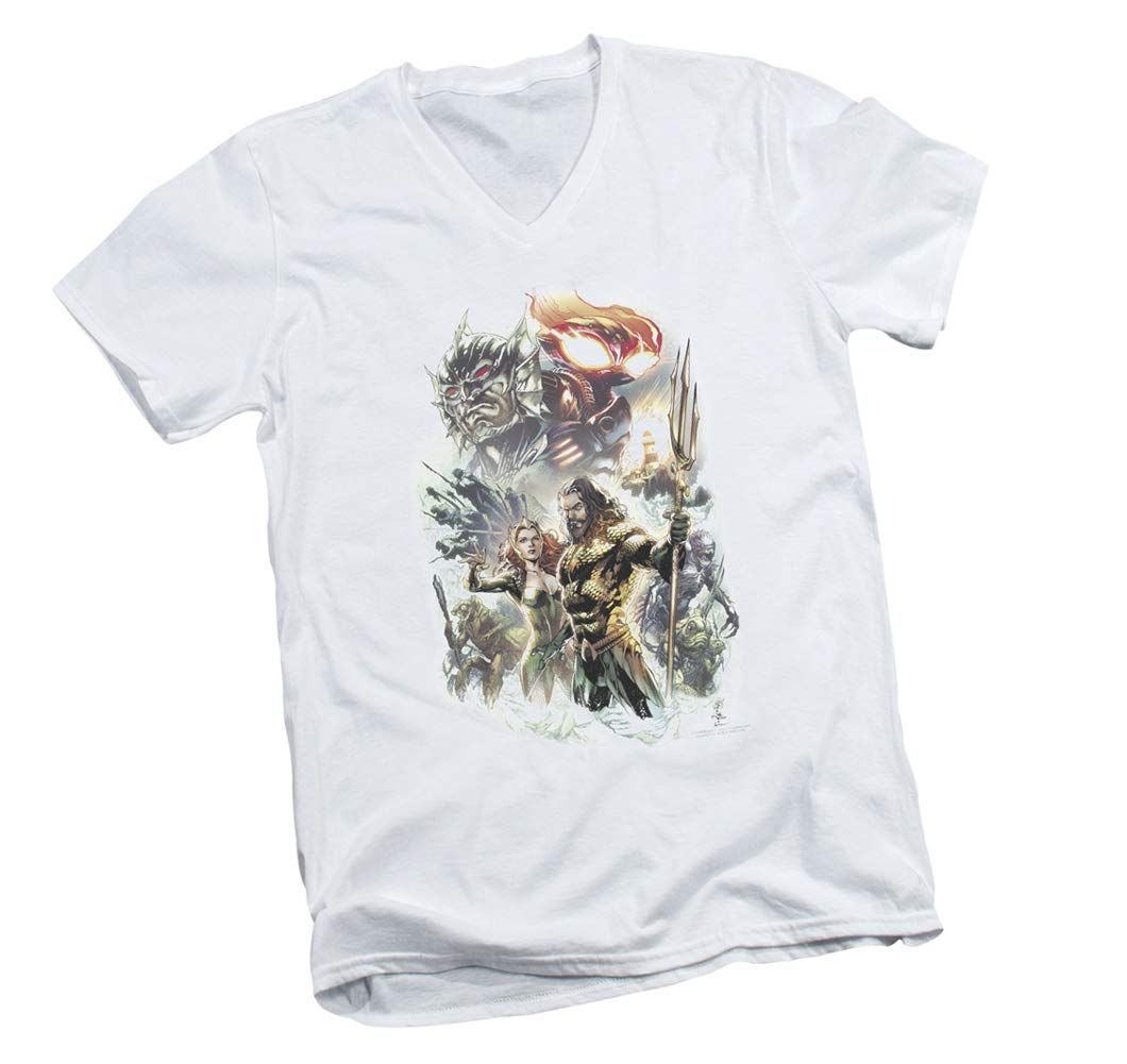 Aquaman Movie King Of Atlantis Adult T Shirt 5739