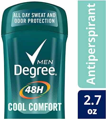 Degree Cool Comfort Original Protection Antiperspirant Stick, 2.7 oz (Pack of 6)