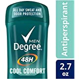 Degree Cool Comfort Original Protection Antiperspirant Stick, 2.7 oz (Pack of 6)