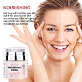 EssyNaturals Brightening Cream, Dark Spot Corrector and Skin Bleaching Cream for Face, Intimate Parts, and Whole Body with 4-Butyl Resorcinol (better than 2% hydroquinone), α-Arbutin, Niacinamide
