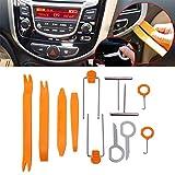 Super PDR® 12Pcs Auto Door Clip Panel Trim DENT Removal Tool Kits for Car Dash Radio Audio Installer Pry Tool