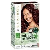 Clairol Natural Instincts Semi-Permanent, 4RV Dark