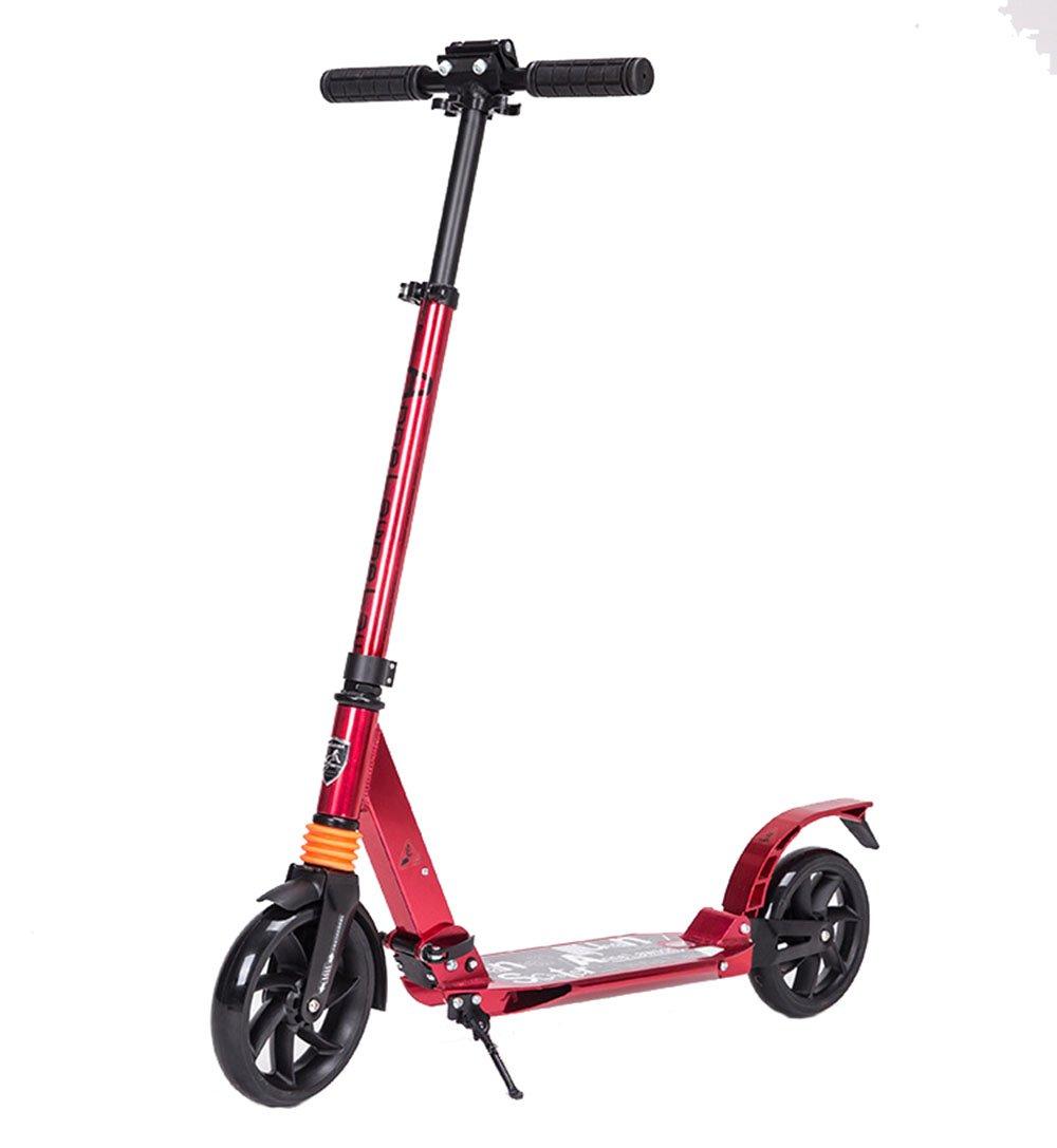 Niños abatiendo patada scooter Scooter para adolescentes adultos   Vespa plegable ajustable del viajero de la aleación de aluminio para los cabritos paseo ascendente, liso y rápido de los años 8