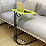 Collapsible Removable Computer Desk,Free Installation Lazy Person Table Desk Sofa Table Side Table for Bed-B