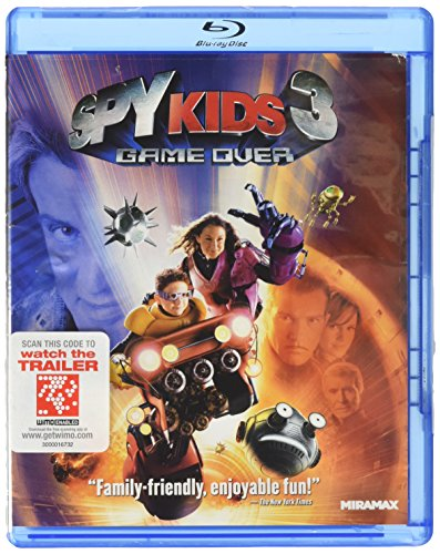 Blu-ray : Spy Kids 3: Game Over (Blu-ray)
