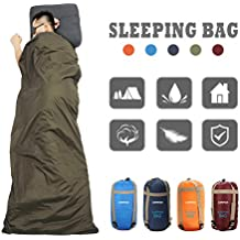 CAMTOA Outdoor Camping Sleeping Bag,Ultra-light Envelope Sleeping Bag for Travel Hiking - Spring, Summer & Fall(Waterproof) …