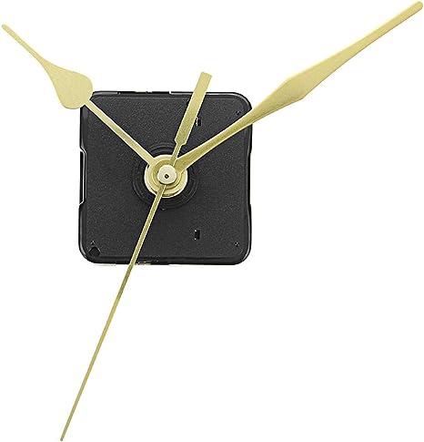 Amazon.com: 5pcs 20mm Shaft Length Gold Hands Wall Clock Silent Movement Mechanism Repair Parts - Electronic Accessories & Gadgets Alarm Clocks -5 x Quartz clock movement kit: Home Improvement