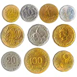 10 Collectible Coins from South and North