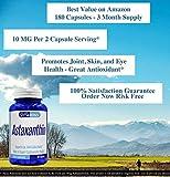 Astaxanthin - 180 Capsules - 10mg Per Serving