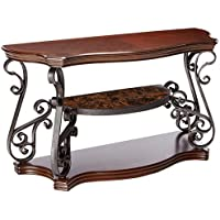 Coaster Home Furnishings Traditional Sofa Table, Dark Brown