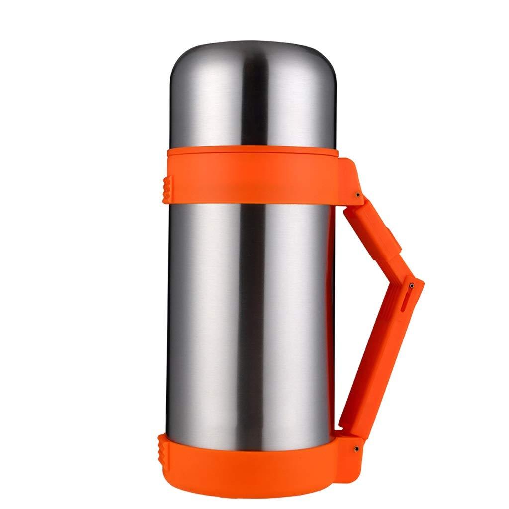 FYCZ Thermoskannen, Edelstahl Haushalt Outdoor Reisebecher Thermoskanne Kaffeekanne Große Kapazität Auto 1.2L