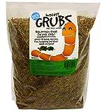 Mann Lake PH525 Wonder Grubs Dried Mealworms, Brown