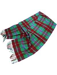 """Wool Scarf 100% Merino Lambswool 12"""" x 72"""" Irish Made"""