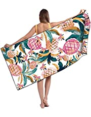 Microfiber Luxury Beach Towel Double Faced Velvet No Sand Quick Drying Adult Swimming Towel Large Printing Hiker Towel.
