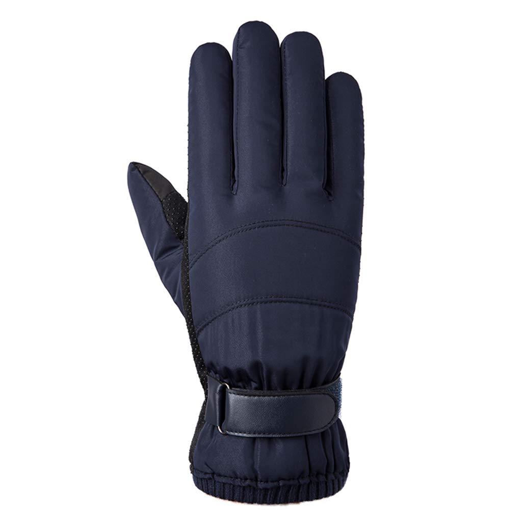 DSADDSD Männliche Winter-im Handschuhe, Freienhandschuhe, warme reitende Wasserdichte Handschuhe, Winter-im Ski-Handschuh-Männer 76cc8c