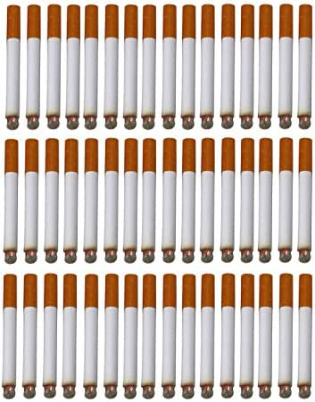 SNInc. Fake Puff Cigarettes Bulk Pack Of 48 Realistic Looking Puff Cigars