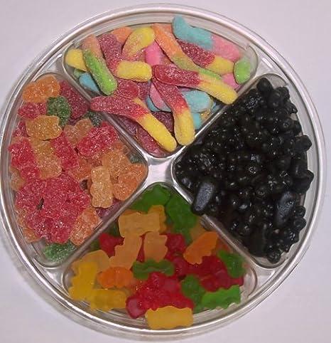 Scott's Cakes 4-Pack Gummie Bears, Sour Gummie Bears, Black Licorice Gummie Bears, & Sour Inch Worms