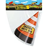 Safety Traffic Cone Construction Party Table