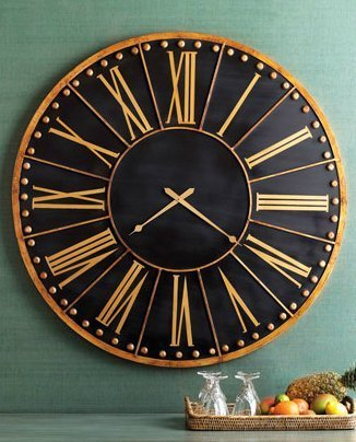 extra large skeleton wall clocks uk contemporary metal black gold train station clock wood