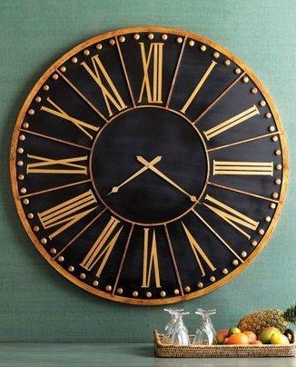 extra large skeleton wall clocks uk contemporary metal black gold train station clock wood