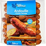 Sausages By Amylu Andouille Chicken Sausage, 40 Oz (1 Pack)