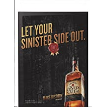 MAGAZINE AD For 2013 Jim Beam Devil's Cut: Let Your Sinister Side Out