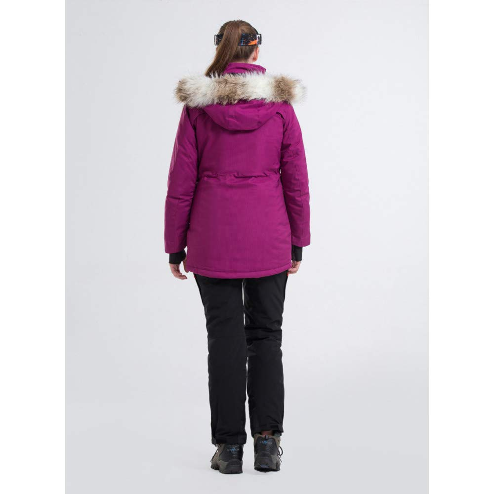 ZXGJHXF Nuova Tuta da Sci Sci Sci Giacca da Donna Impermeabile Giacca da Sci di Alta qualità  Pantaloni Warm Lengthen 5 Coloree Optional Ski Suit Female,Coloreee 1,SB07KYJKXPKL Coloreee 1 | Il materiale di altissima qualità