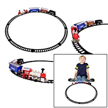Dazzling Toys Battery Operated Classic Train and Track Set (D278)