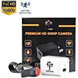 Spy Camera HD 1080p USB Wall Charger Hidden Camera Adapter Plug With Motion Detection and Loop Recording Nanny Camera 32 GB Memory Included