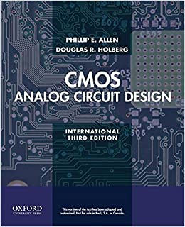 Cmos Analog Circuit Design Phillip E Allen Pdf